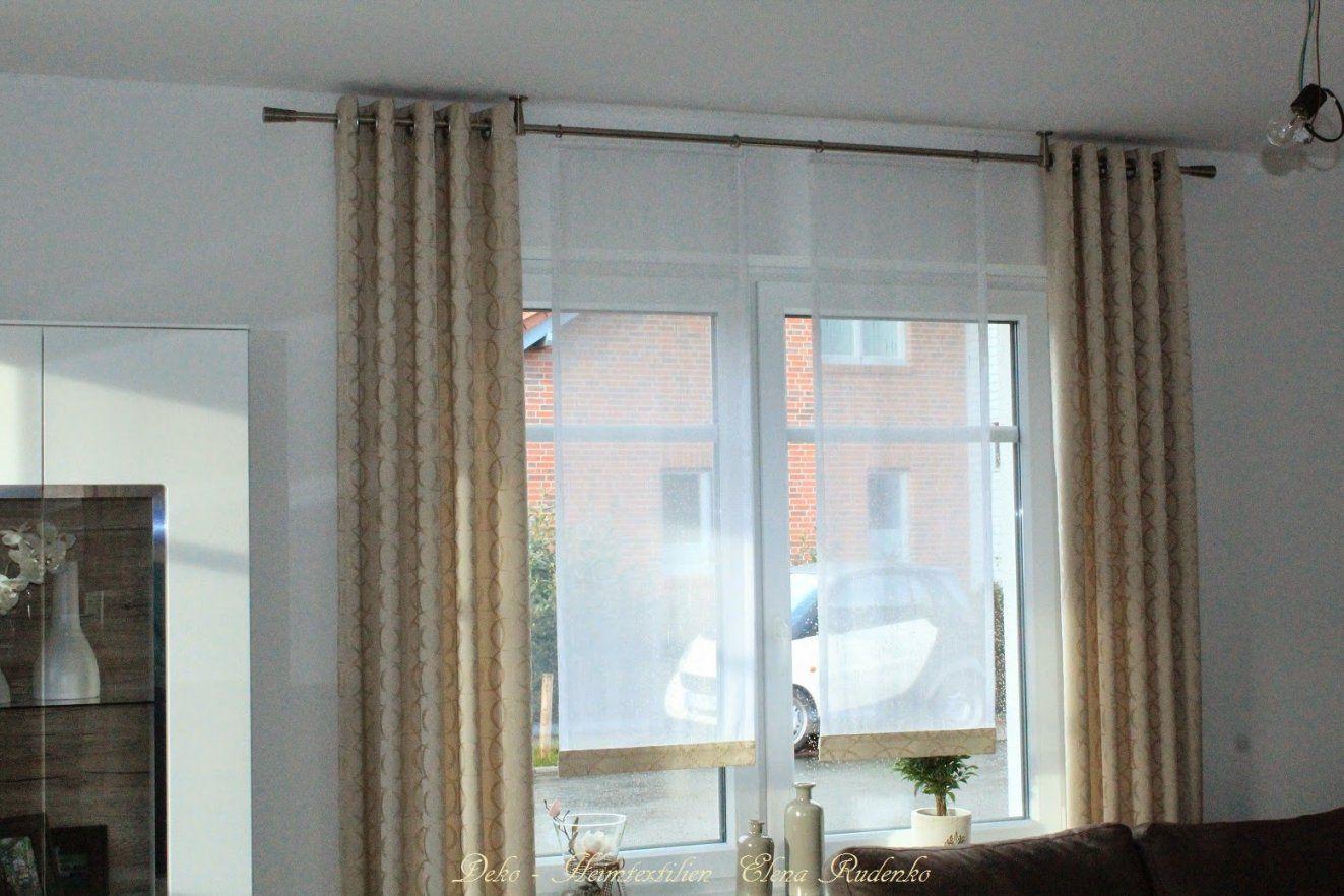 Fenster Ohne Gardinen Dekorieren  Haus Design Ideen