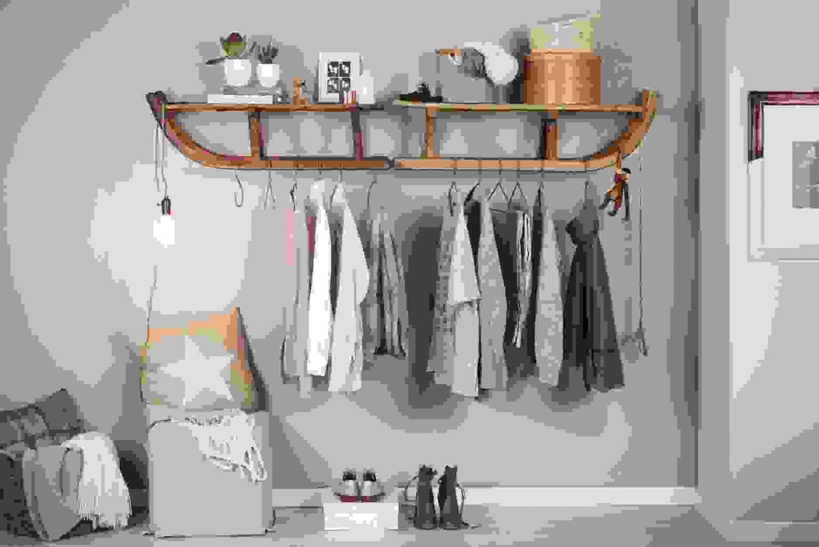 baumstamm garderobe selber bauen | garderobe baum