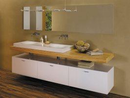 Doppeltes Waschbecken Mit Unterschrank   Haus Design Ideen