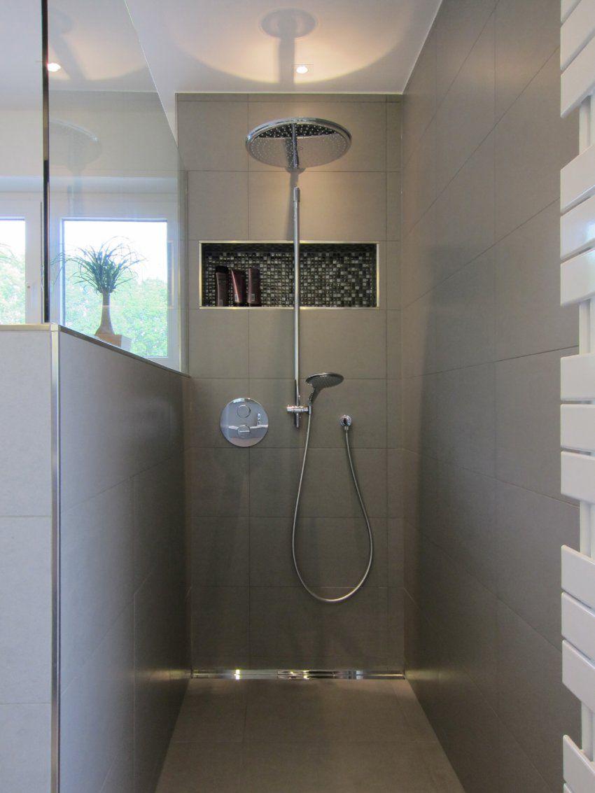 Led Beleuchtung Fliesen Verlegen Dusche Badezimmer Duschfach Youtube von Ablage In Dusche