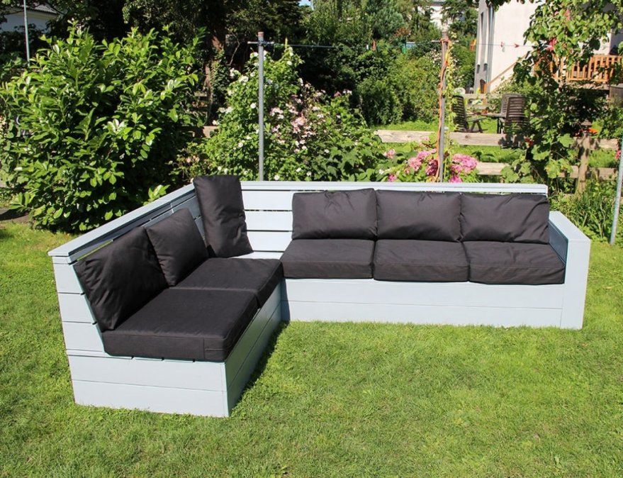 Paletten Sofa Garten Selber Bauen