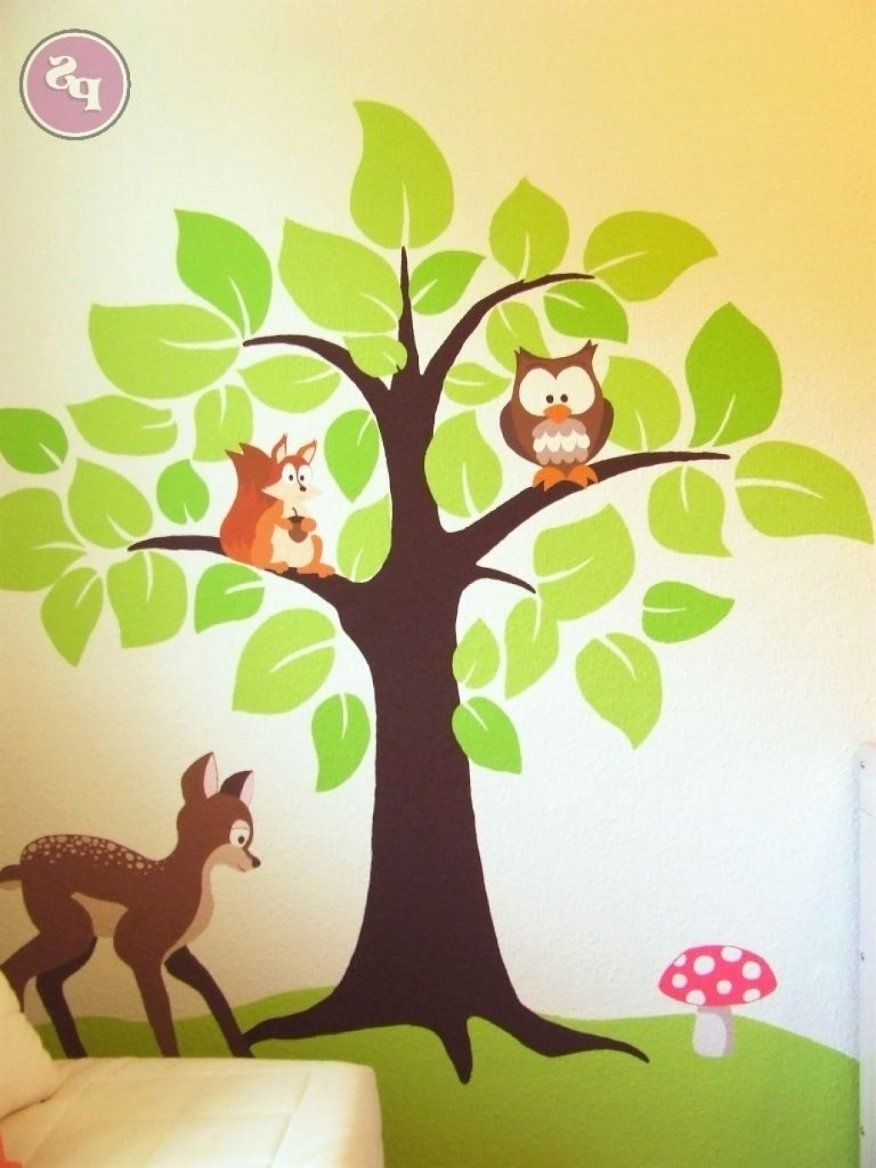 Kinderzimmer Wandbilder Dschungel Selber Machen 11 Bilder