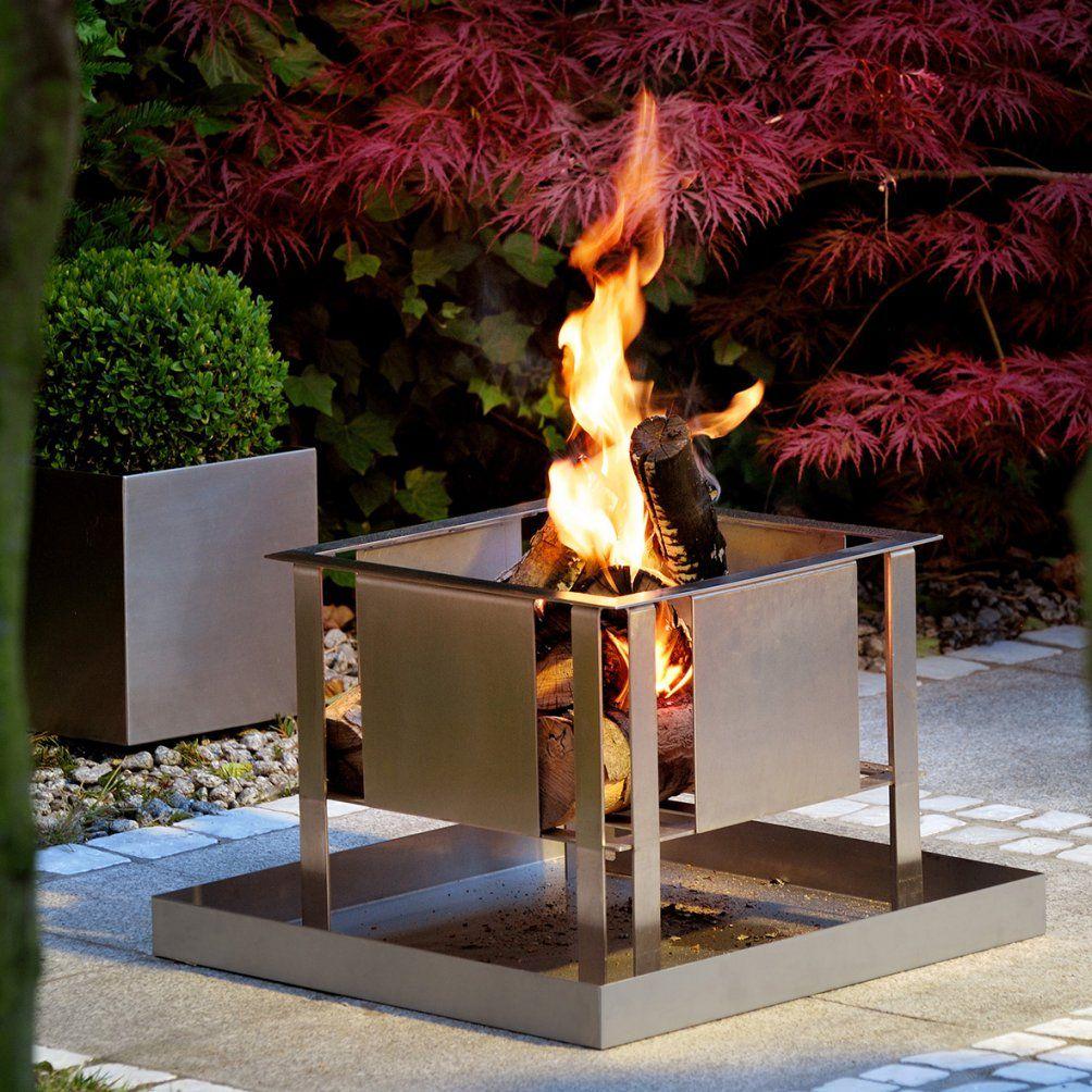 Feuerstelle Terrasse Selber Bauen Garten Feuerstelle Grill