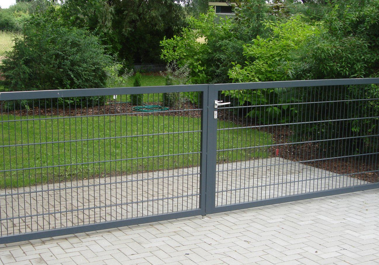 Gartentor 2 M Breit  Haus Design Ideen