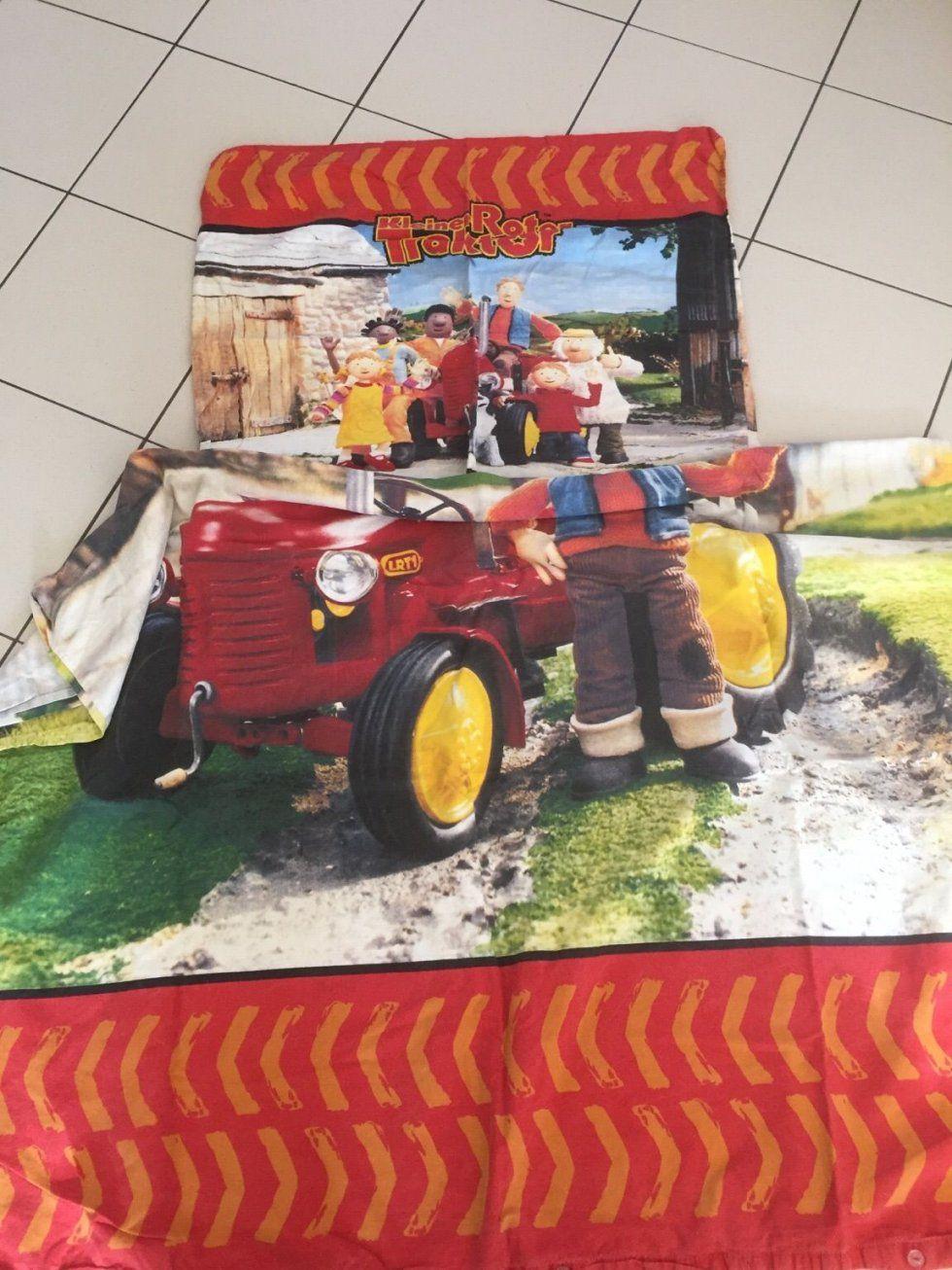 Gebraucht Bettwsche Kleiner Roter Traktor In 4060 Leonding Um von Kleiner Roter Traktor