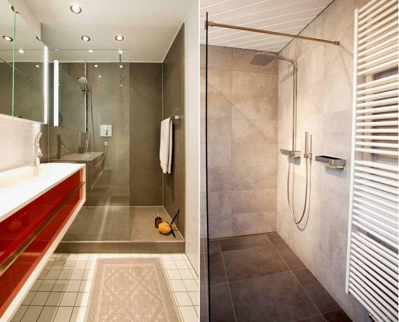 Kleines Bad Mit Dusche Gestalten  Haus Design Ideen