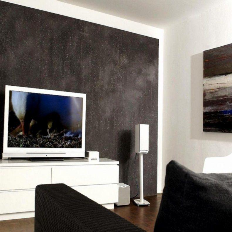 Wohnzimmer Wand Streich Ideen