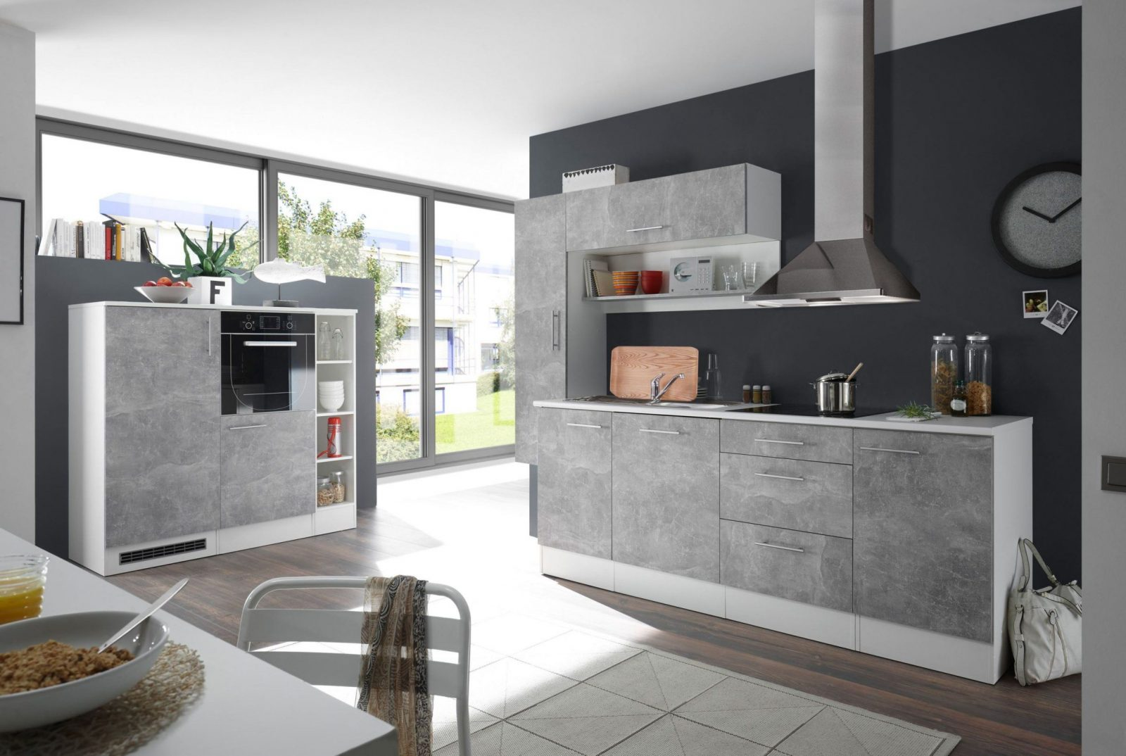minik che mit elektroger ten k che elektroger te separat. Black Bedroom Furniture Sets. Home Design Ideas