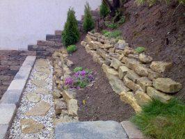 Luxus Gartengestaltung Am Hang Mit Steinen Ideen von Hang ...