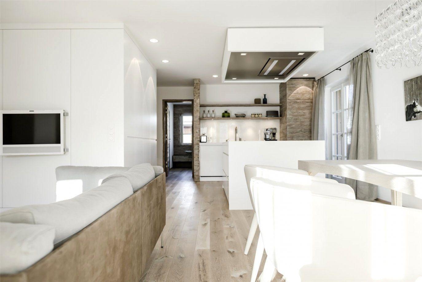 Moderne Wohnzimmer Mit Offener Kche  Haus Design Ideen
