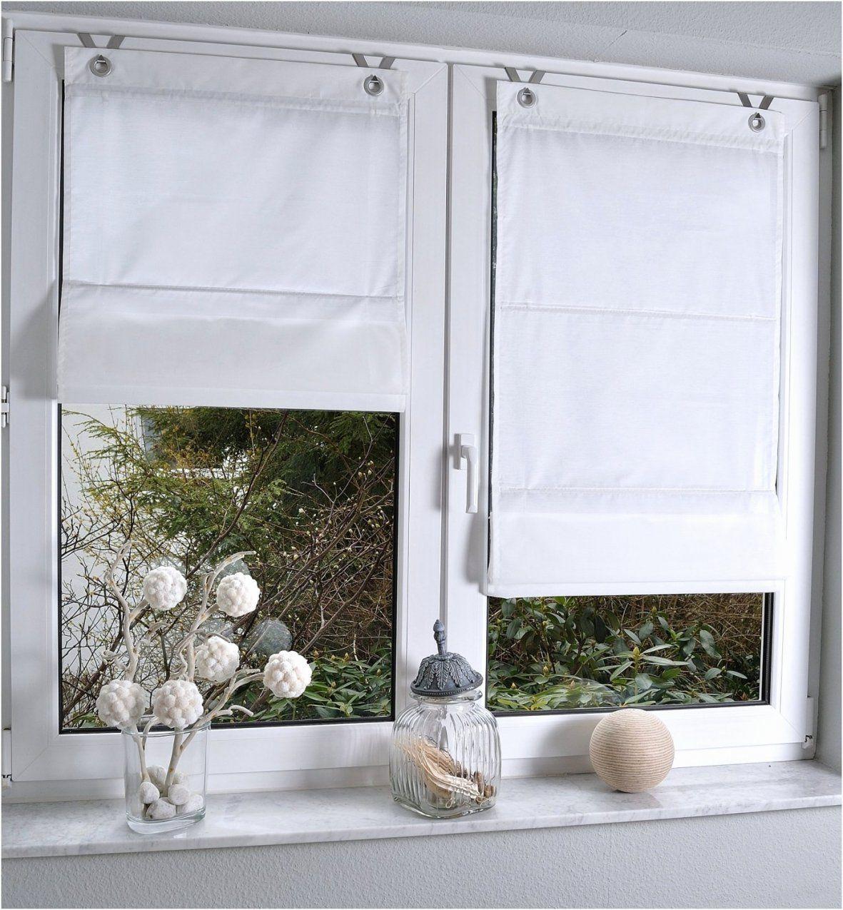 Gardinenbefestigung Am Fenster Ohne Bohren  Haus Design Ideen