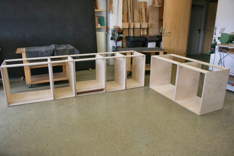 aussenk che holz arbeitsplatte aussenk che. Black Bedroom Furniture Sets. Home Design Ideas