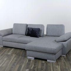 Big Sofa Eckcouch Flexsteel Dana Price Grau Poco