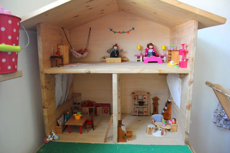 puppenhaus k che basteln rustic miniature kitchen. Black Bedroom Furniture Sets. Home Design Ideas