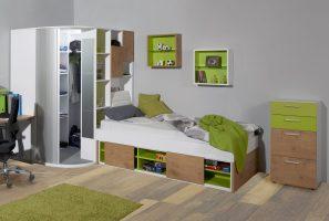 Elegantes Bett Mit Schrank Bild – Bilder und Bewertung