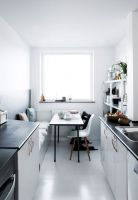 Schmale Küche Gestalten Elegant Tisch Kleine Küche ...