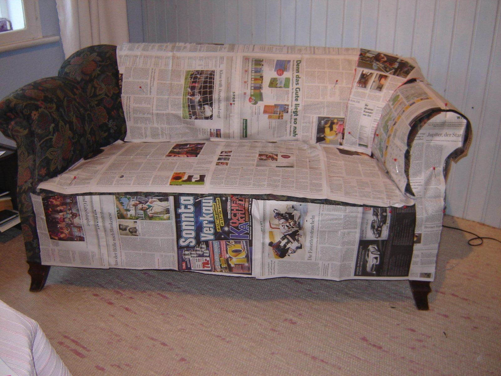 Husse Für Sessel Nähen