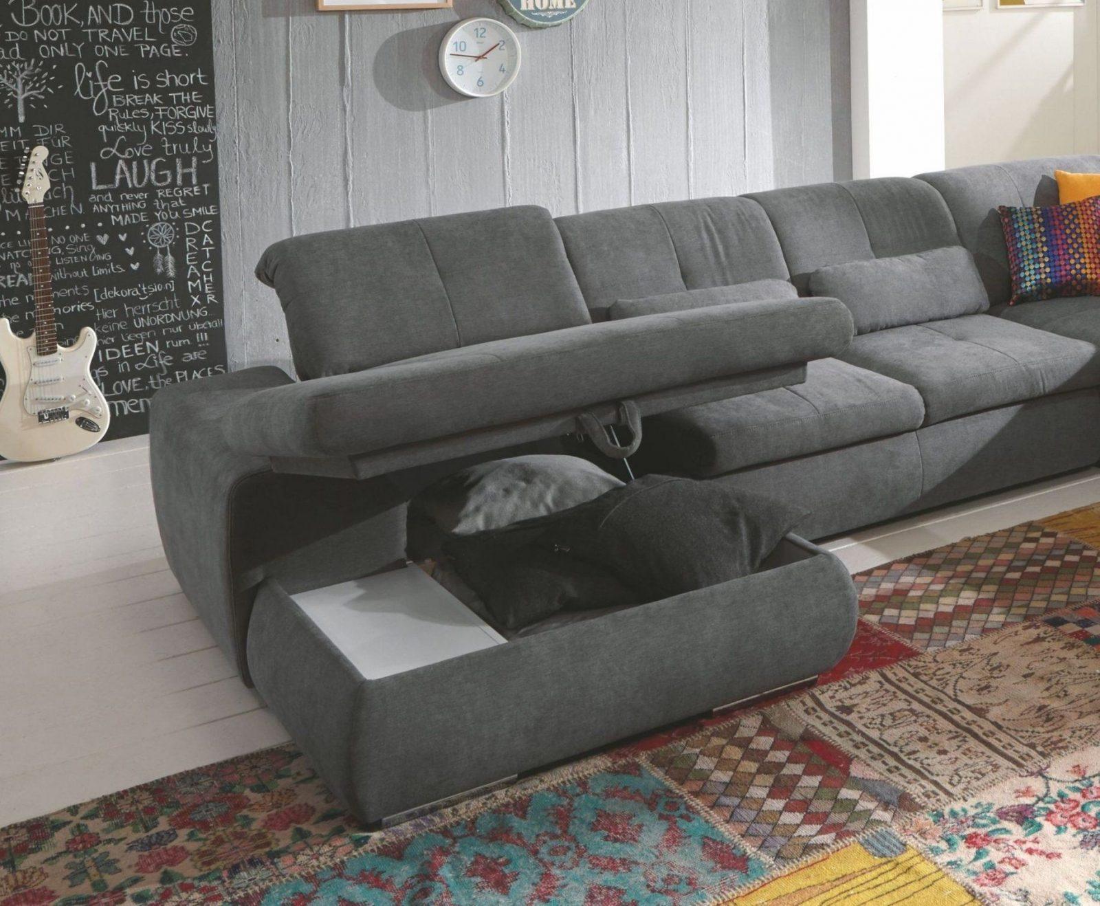 sofa u form grau. Black Bedroom Furniture Sets. Home Design Ideas