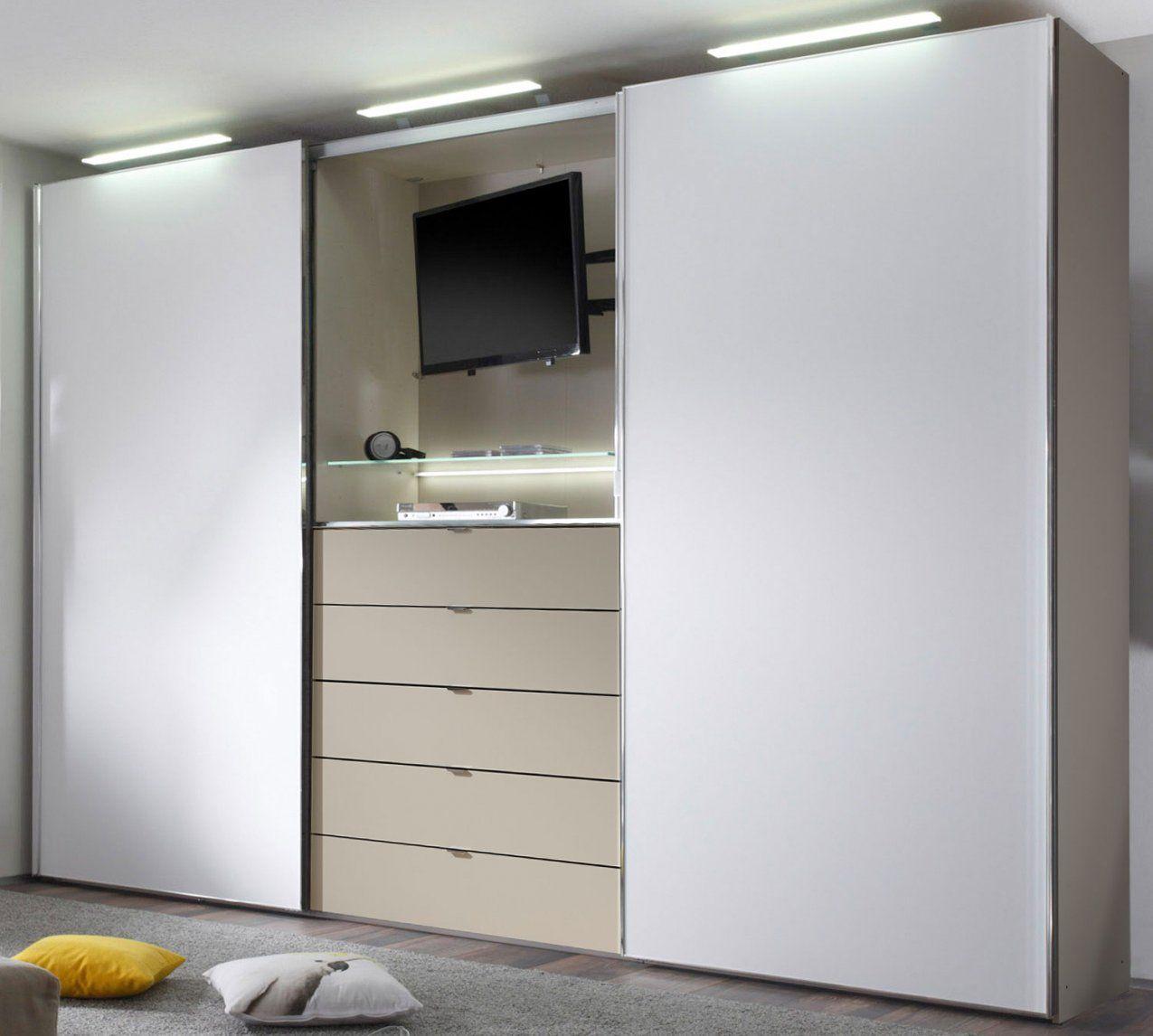 Kleiderschrank Mit Tv Aussparung  Haus Design Ideen