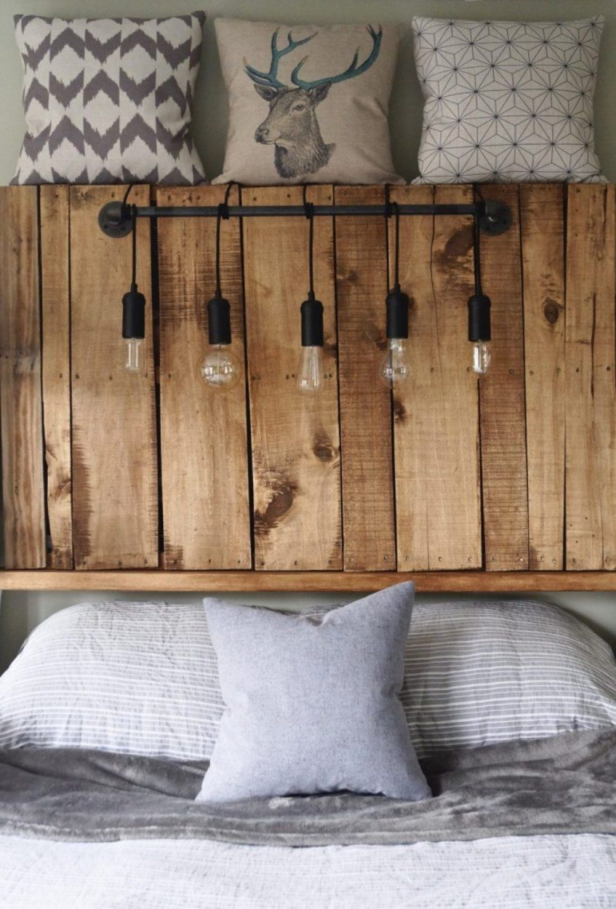 Bett Kopfteil Holz Selber Bauen