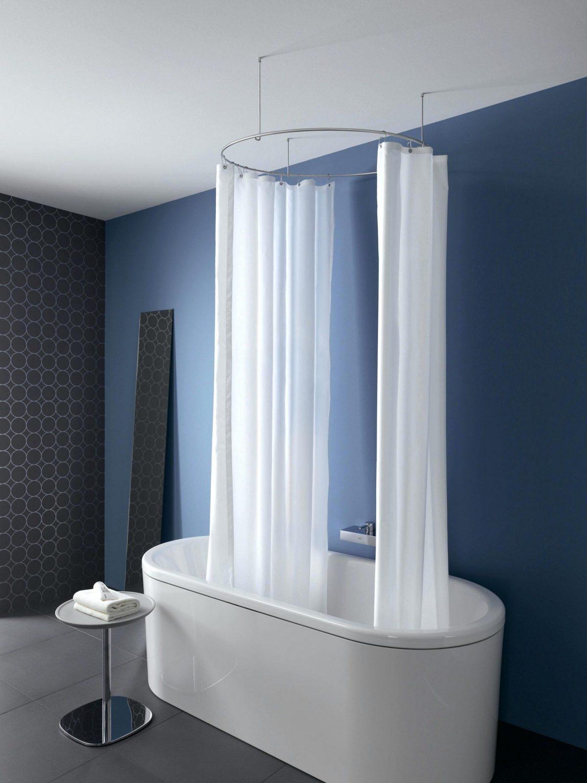 Duschstange U Form Duschvorhangstange Fur Badewanne