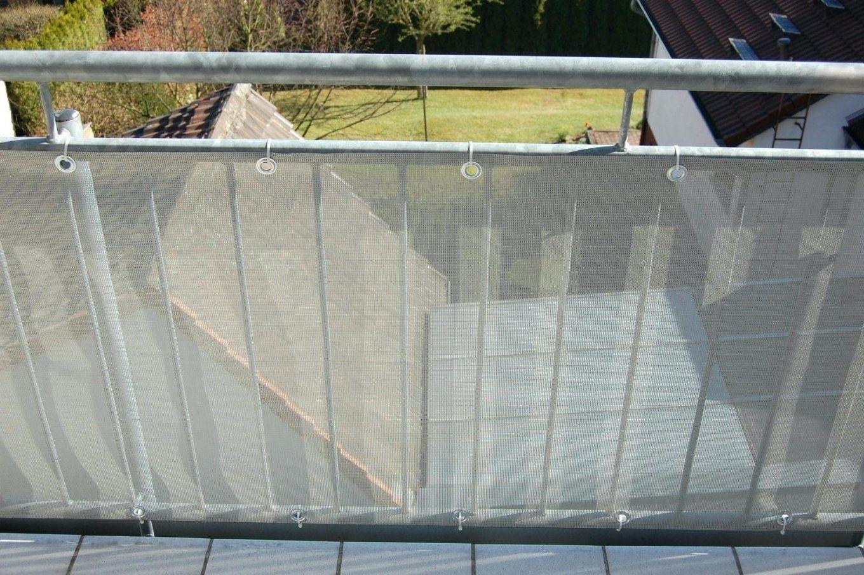Sichtschutz Kunststoff Transparent Terrassen Kunststoff