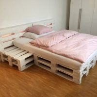 Vibrant Creative Paletten Bett 140X200 Luxus Selber Bauen ...