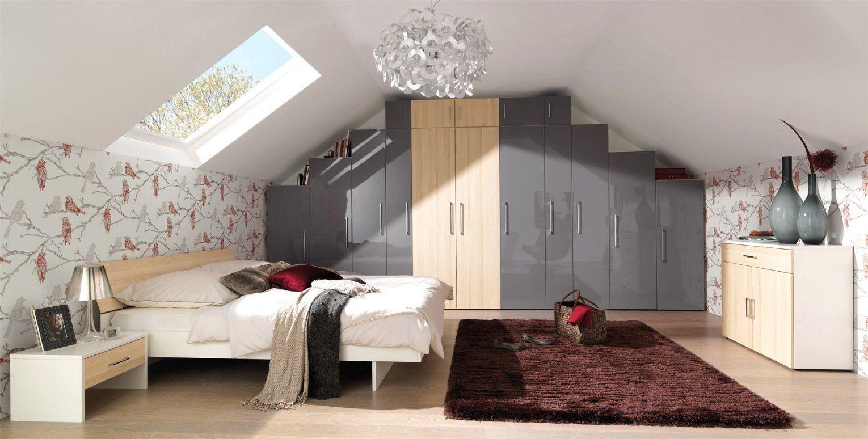 Dachschräge Schrank Bauen   Schlafzimmer Ideen ...