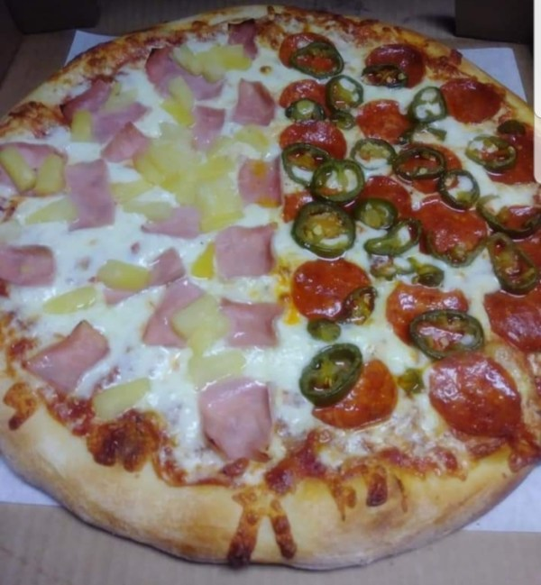 Multi topping Pizza