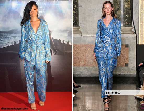 Rihanna in Emilio Pucci at Battleship premiere in Japan