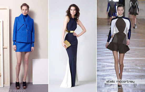 Three of Stella McCartney's 2012 designs