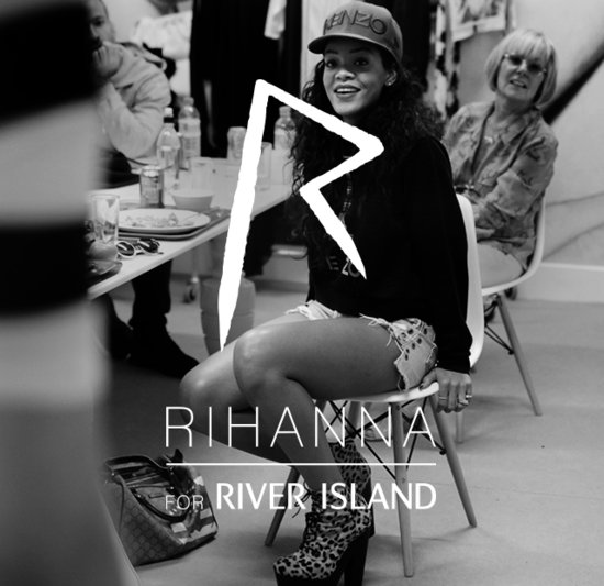 Rihanna for River Island banner