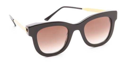 Thierry Lasry's The Sexxxy black and gold sunglasses