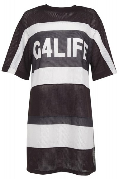 Rihanna for River Island G4Life oversized t-shirt