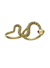 Jennifer Fisher Jewelry double snake ring