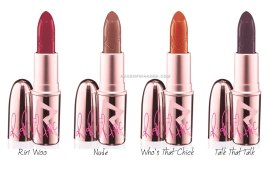 RiRi ♥ MAC lipsticks