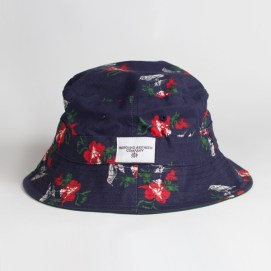 Profound Aesthetic Flight of Birtds navy bucket hat