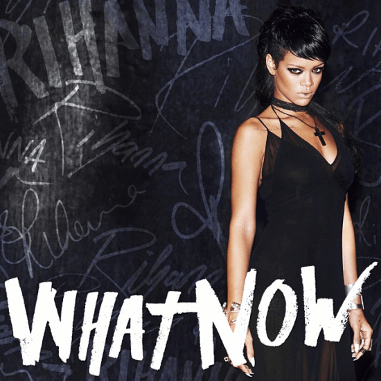 Rihanna wearing Kiki de Montparnasse dress on What Now single cover