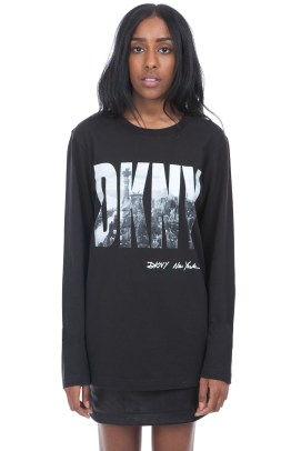 DKNY for Opening Ceremony Spring 92 Soho Wall t-shirt