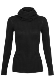 Rihanna for River Island roll neck ribbed sweater