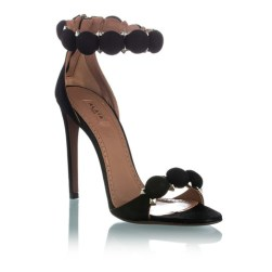Azzedine Alaia Bomb suede sandals
