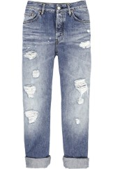 Acne Studios Generic Girl ripped jeans as seen on Rihanna