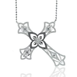 Elise Dray cross necklace