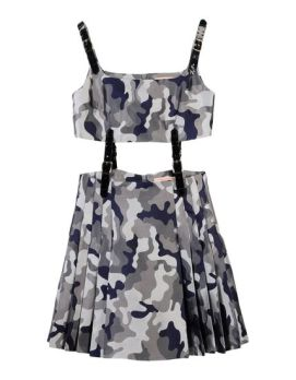 Christopher Kane camo dress