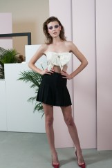 Adam Selman Spring 2014 bow top