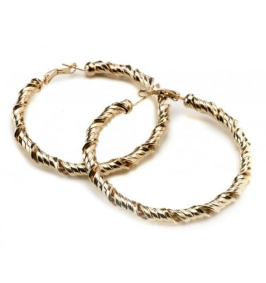 Gogo Philip twisted gold earrings