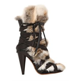 Isabel Marant fur and leather boots