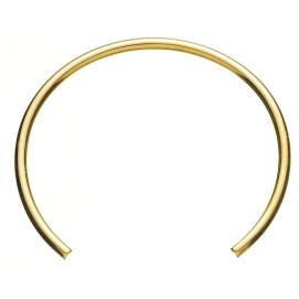 Jennifer Fisher x Stop It Right Now gold choker