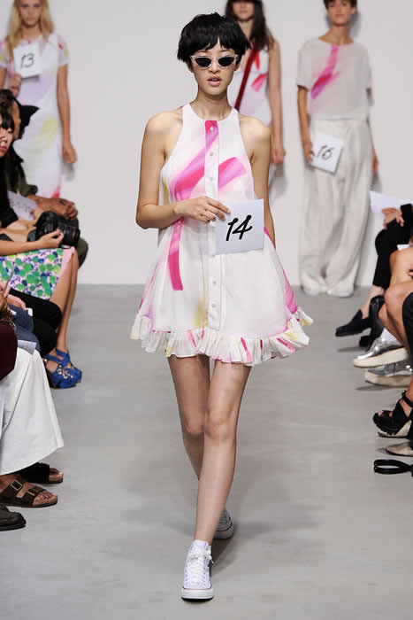 Adam Selman Spring/Summer 2015 baby doll dress