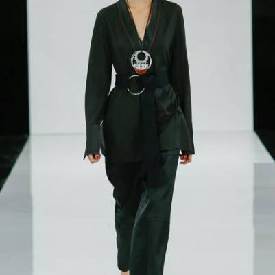 Edun green suit from Spring/Summer 2015